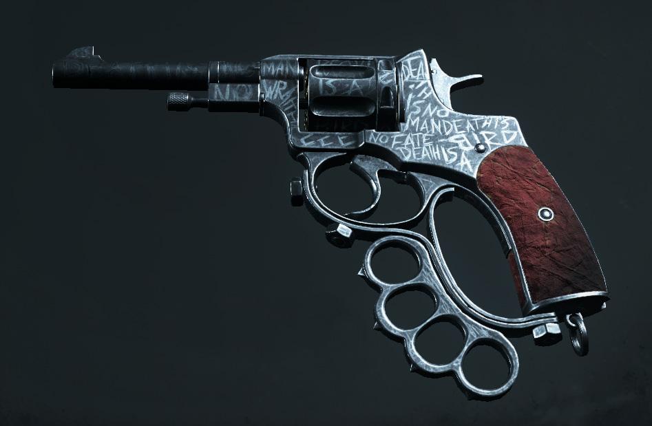 Легендарное оружие Death Letter (Nagant M1895 Officer Brawler) в Hunt: Showdown