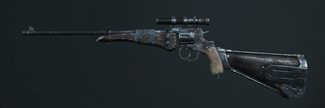 Револьвер Nagant M1895 Officer Carbine Deadeye в Hunt: Showdown