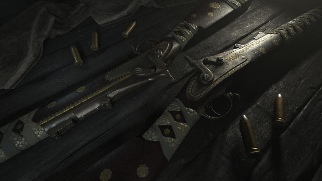 Легендарное оружие Seinan Sharpshooter (Springfield 1866) в Hunt: Showdown