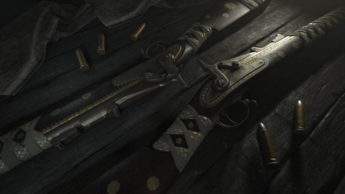 Легендарный облик Seinan Sharpshooter для Springfield 1866