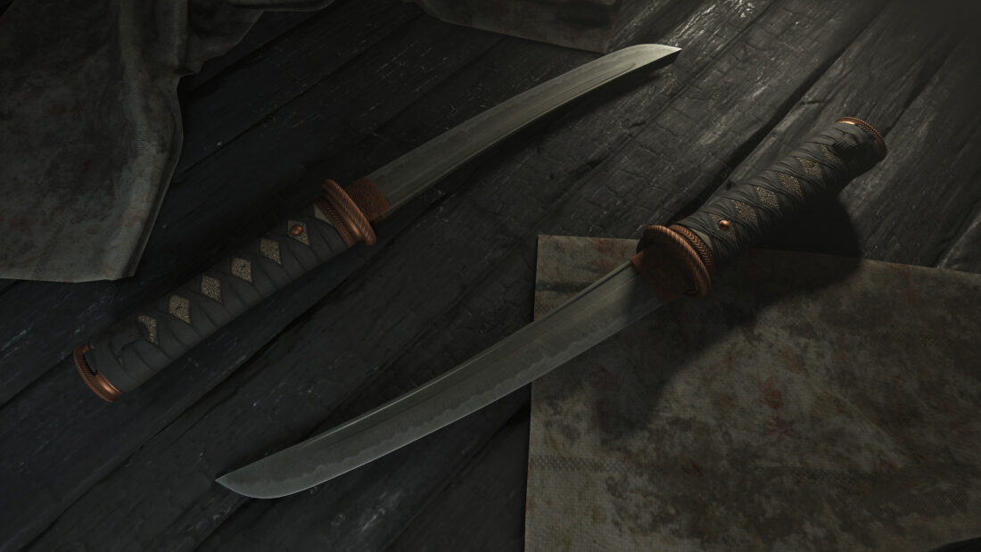 Легендарный облик The Tanto для ножа