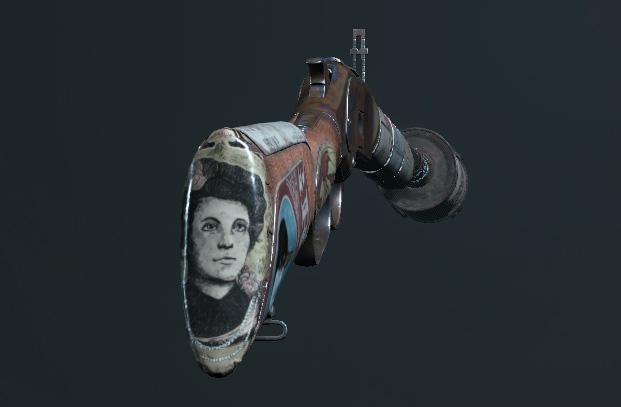 Легендарное оружие Vagrant (Winfield M1873C Silencer) в Hunt: Showdown
