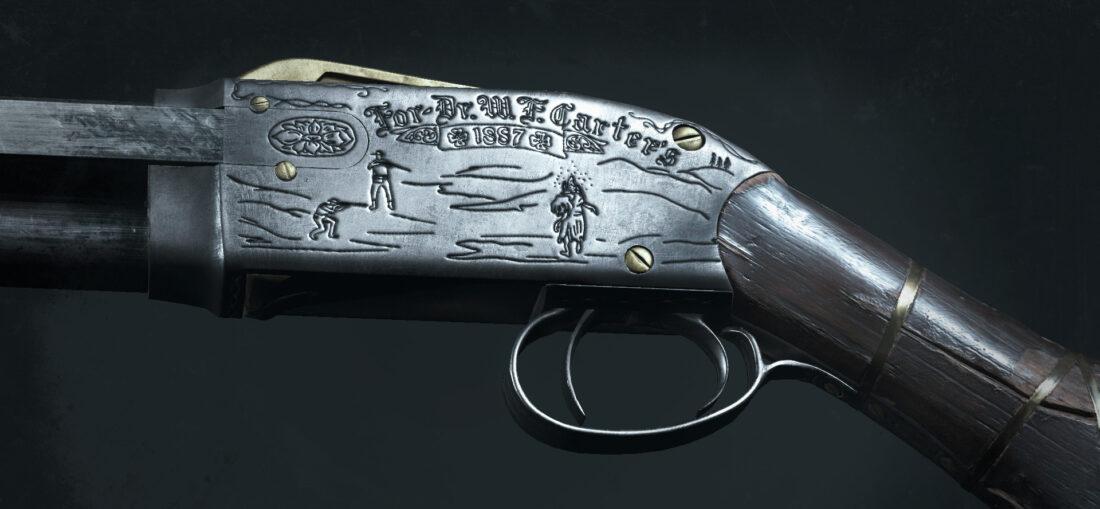 Легендарное оружие Carter`s Quickshot (Specter 1882 Compact) в игре Hunt: Showdown