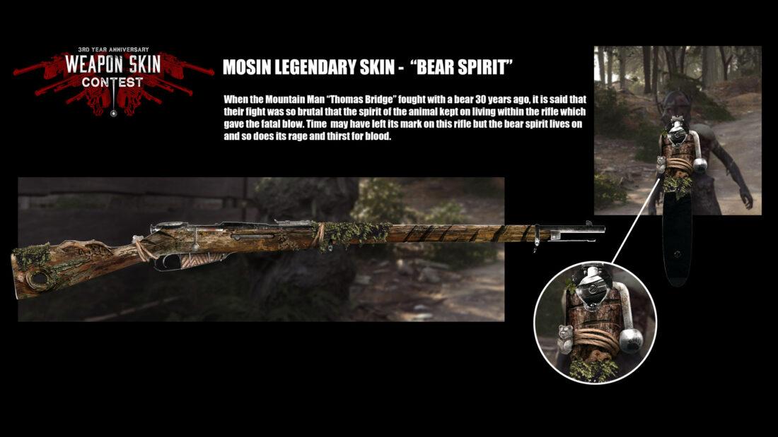 Bear Spirit (Mosin Nagant m1891) от FloViking