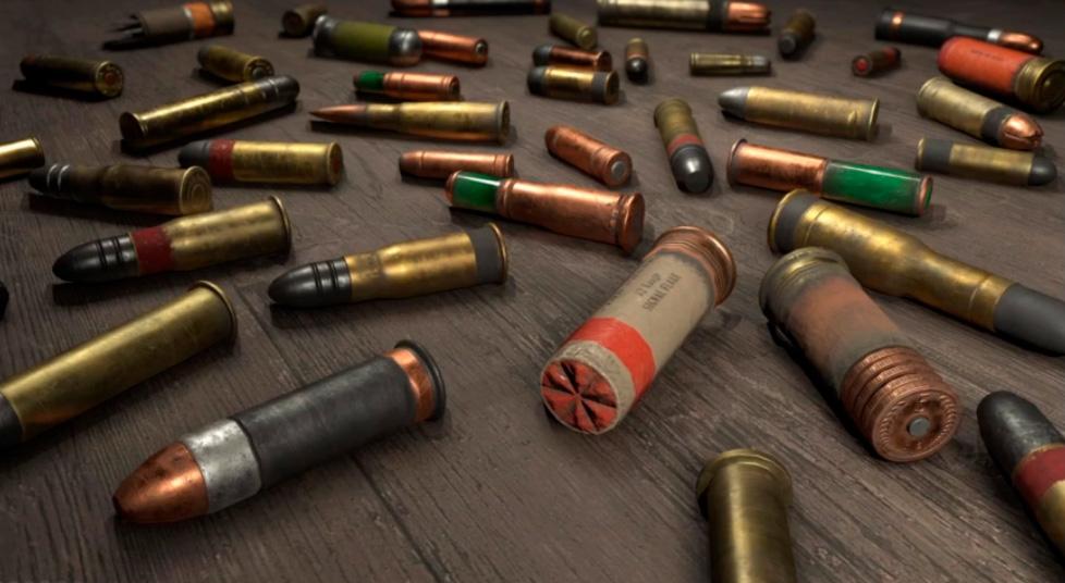 Богатый выбор боеприпасов
