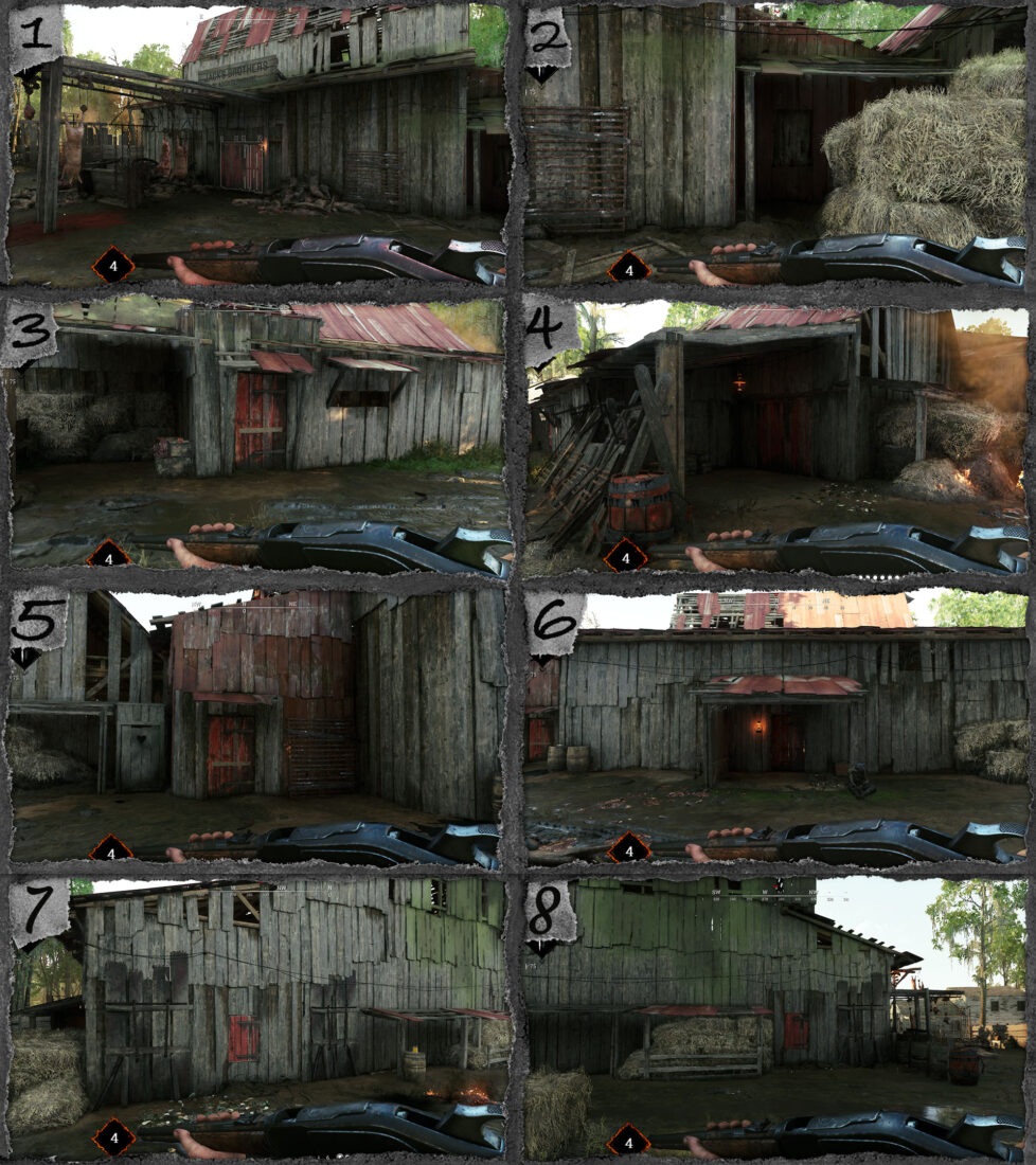 Тактическая оценка локации The Slaughterhouse