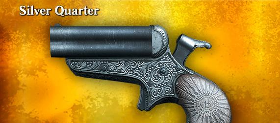 Silver Quarter для Quad Derringer