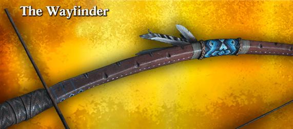 Легендарное оружие The Wayfinder (охотничий лук)