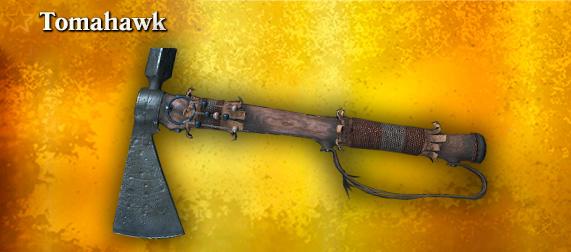 Легендарное оружие Томагавк (метательный топор)