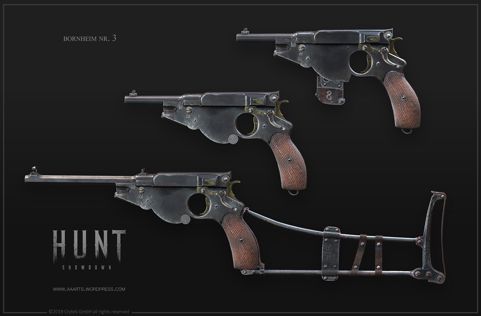 Семейство пистолетов Bornheim No. 3