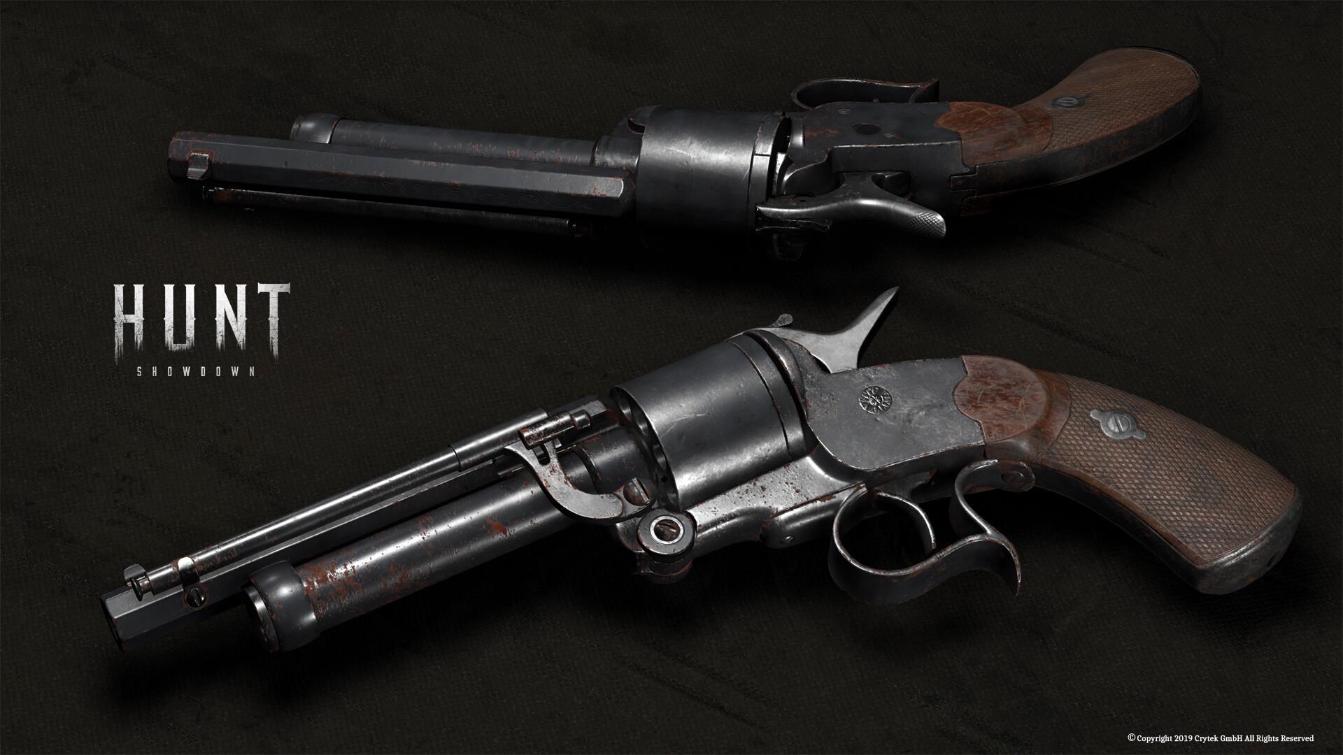 LeMat Mk2 Revolver